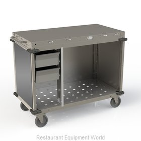 Cadco CBC-PHRX-LST Serving Counter, Hot Food, Electric
