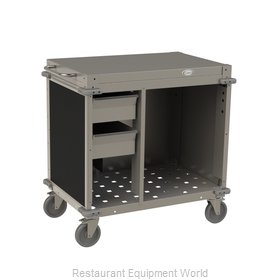 Cadco CBC-SDCX-L6 Serving Counter, Hot Food, Electric