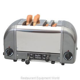 Cadco CBF-4M Toaster, Pop-Up