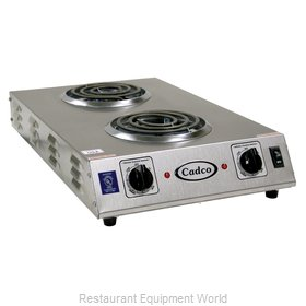 Cadco CDR-1TFB Hotplate, Countertop, Electric