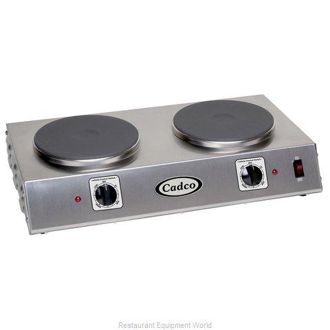 Cadco CDR-2C Hotplate, Countertop, Electric