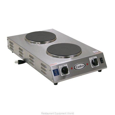 Cadco CDR-2CFB Hotplate, Countertop, Electric