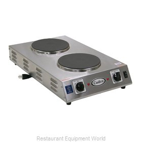 Cadco CDR-2CFB Hotplate, Countertop, Electric