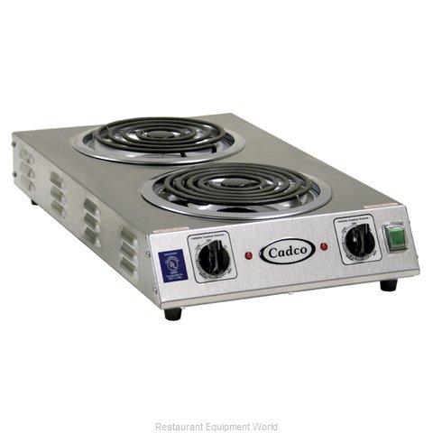 Cadco CDR-2TFB Hotplate, Countertop, Electric