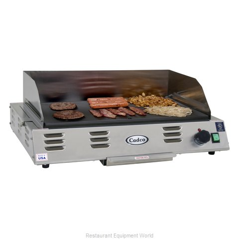 Cadco CG-20 Griddle, Buffet, Countertop