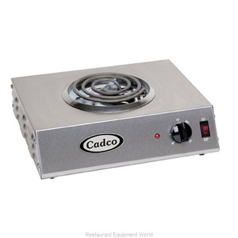 Cadco CSR-1T Hotplate, Countertop, Electric