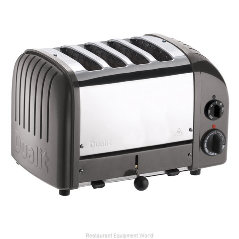 Cadco CTW-4M Mica 4 slot Toaster Stainless Plus (Magnified)