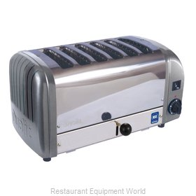 Cadco CTW-6M(208) Toaster, Pop-Up