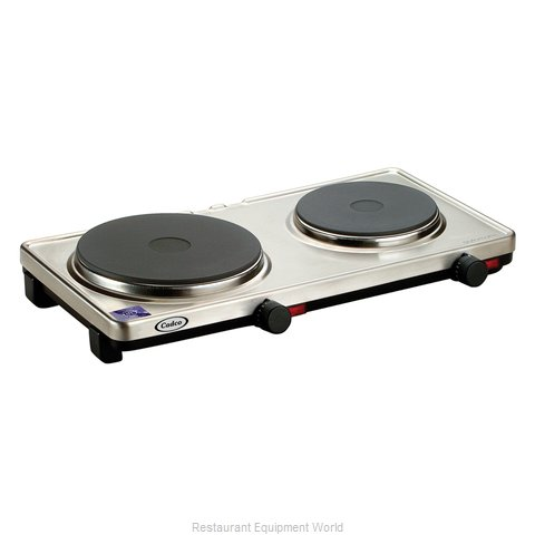 Cadco DKR-S2 Double Burner Buffet Range