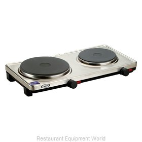 Cadco DKR-S2 Hotplate, Countertop, Electric