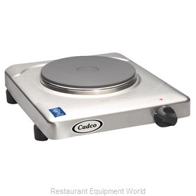 Cadco KR-S2 Hotplate, Countertop, Electric