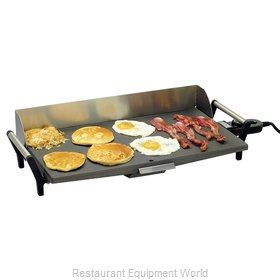 Cadco PCG-10C Griddle, Charcoal stainless