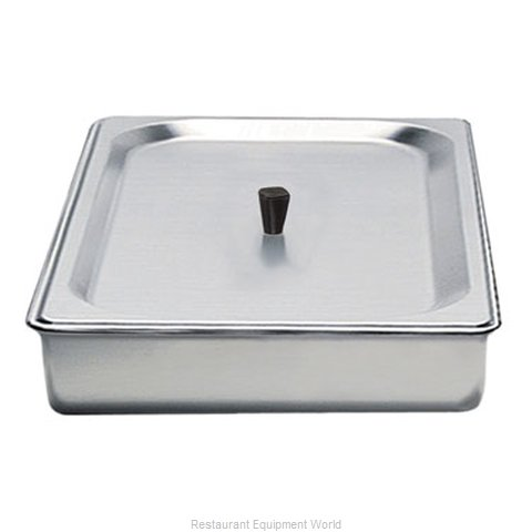 Cadco SPL-2 Half Size Steam Pan with Stainless Lid