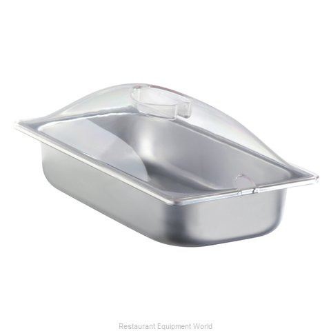 Cadco SPL-3P Third Size Steam Pan with Clear Lid