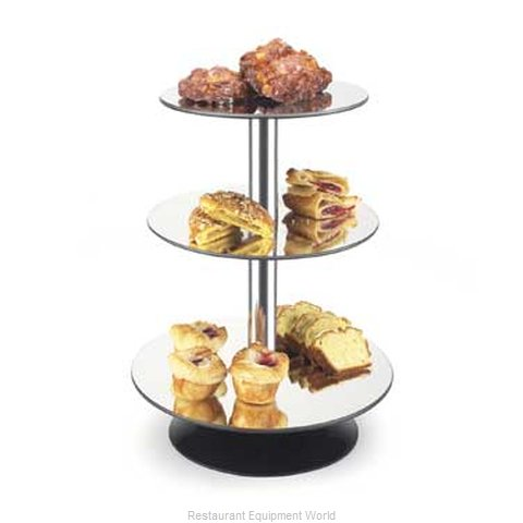 Cal-Mil Plastics 1003 Tiered Display Server Stand (Magnified)