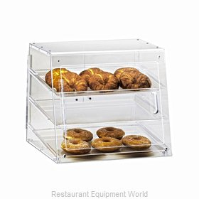 Cal-Mil Plastics 1011-S Display Case Pastry Countertop Clear