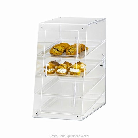 Cal-Mil Plastics 1012-S Display Case, Pastry, Countertop (Clear)