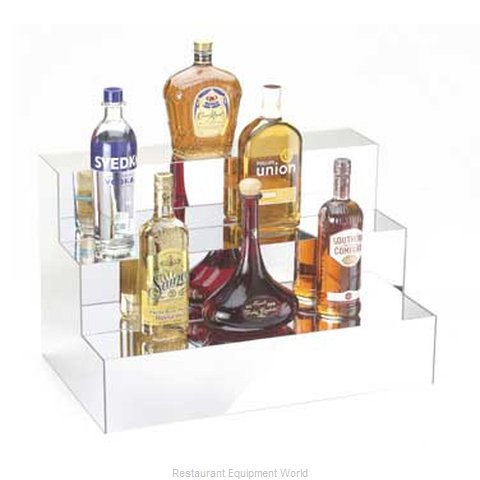 Cal-Mil Plastics 1034 Liquor Bottle Display Countertop