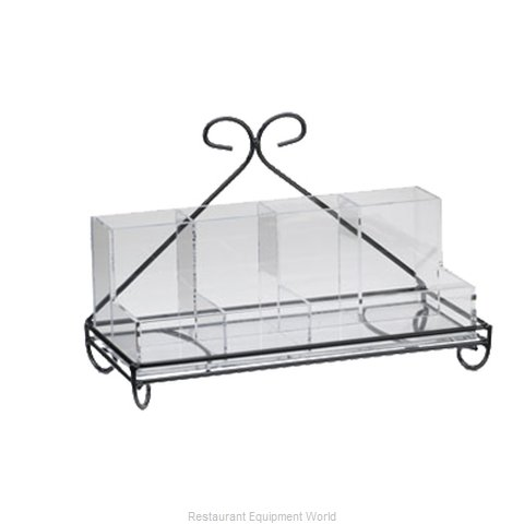 Cal-Mil Plastics 1082-13 Condiment Caddy Tabletop Rack