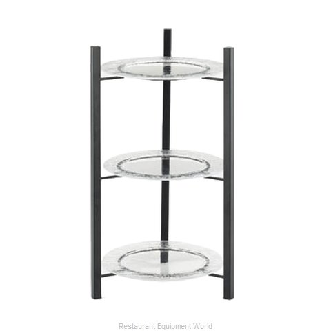 Cal-Mil Plastics 1136-10-13 Tiered Display Server Stand (Magnified)