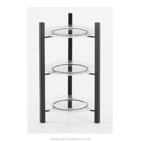 Cal-Mil Plastics 1136-8-13 Tiered Display Server Stand (Magnified)