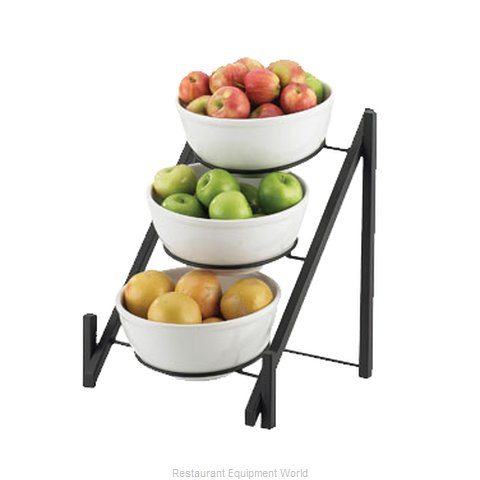 Cal-Mil Plastics 1137-10-13 Tiered Display Server Stand (Magnified)