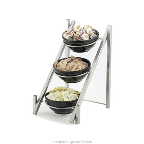 Cal-Mil Plastics 1137-8-74 Tiered Display Server Stand