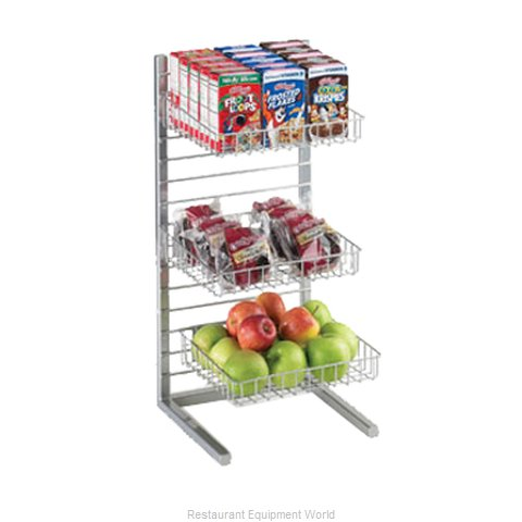 Cal-Mil Plastics 1138-10-74 Tiered Display Server Stand