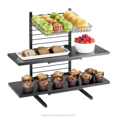 Cal-Mil Plastics 1138-14-13 Tiered Display Server Stand (Magnified)