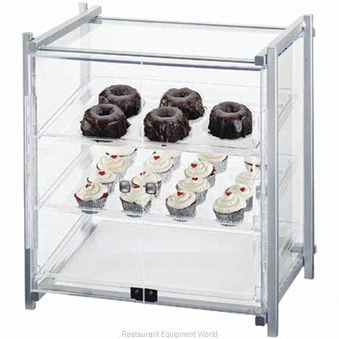 Cal-Mil Plastics 1145-S-74 Display Case, Pastry, Countertop (Clear) (Magnified)