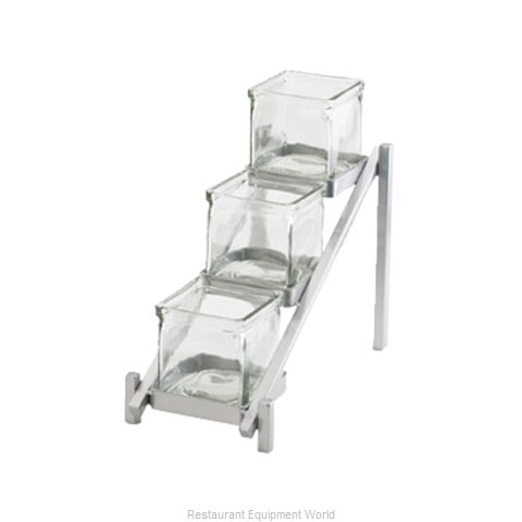 Cal-Mil Plastics 1149-74 Condiment Caddy Tabletop Rack (Magnified)