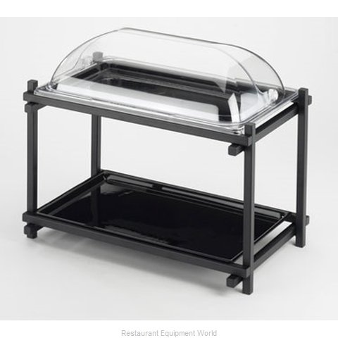 Cal-Mil Plastics 1151-13 Tiered Display Server Stand (Magnified)