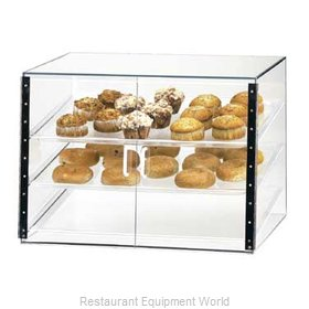 Cal-Mil Plastics 1202-S Display Case Pastry Countertop Clear