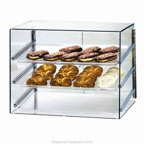 Cal-Mil Plastics 1202 Display Case Pastry Countertop Clear