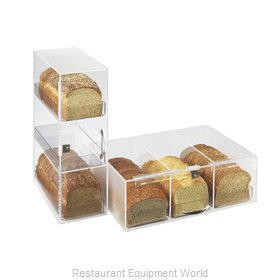 Cal-Mil Plastics 1204-P Display Case, Pastry, Countertop (Clear)