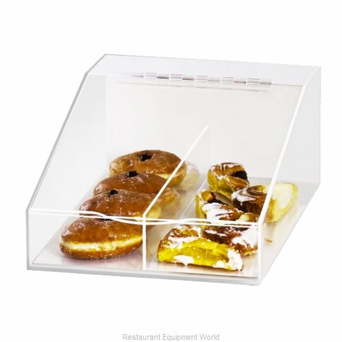 Cal-Mil Plastics 123 Display Case Pastry Countertop Clear