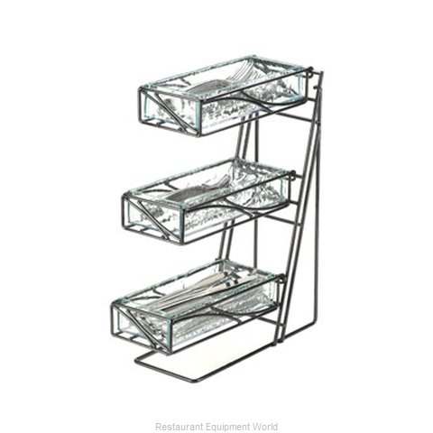 Cal-Mil Plastics 1235-39 Flatware Silverware Holder Dispenser