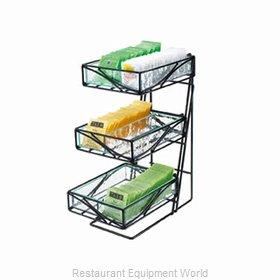 Cal-Mil Plastics 1235-TEA Display Stand, Tiered