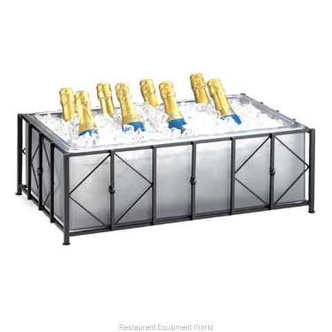 Cal-Mil Plastics 1250-10-13 Ice Display, Beverage (Magnified)