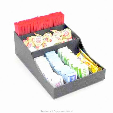 Cal-Mil Plastics 1259 Condiment Caddy, Countertop Organizer (Magnified)