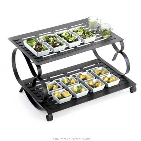 Cal-Mil Plastics 1267 Tiered Display Server Stand