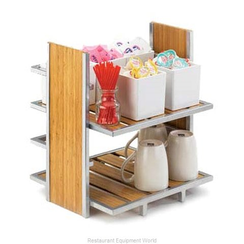 Cal-Mil Plastics 1278 Tiered Display Server Stand