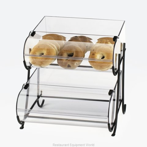 Cal-Mil Plastics 1280-2 Display Case, Pastry, Countertop (Clear)