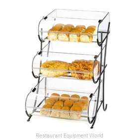 Cal-Mil Plastics 1280-3 Display Case, Pastry, Countertop (Clear)