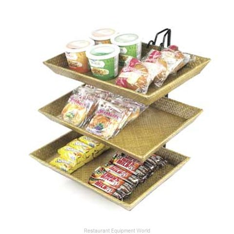 Cal-Mil Plastics 1290-2 Display Stand, Tiered (Magnified)