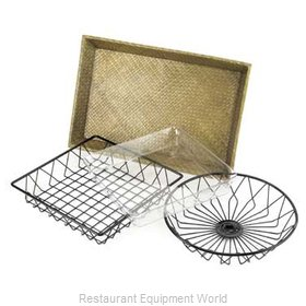 Cal-Mil Plastics 1290TRAY Bread Basket / Crate