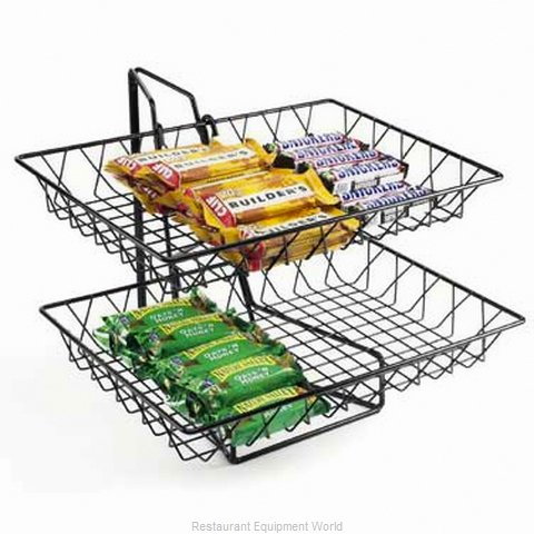 Cal-Mil Plastics 1291-2 Tiered Display Server Stand