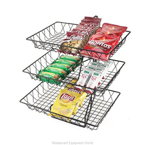 Cal-Mil Plastics 1291-3 Display Stand, Basket