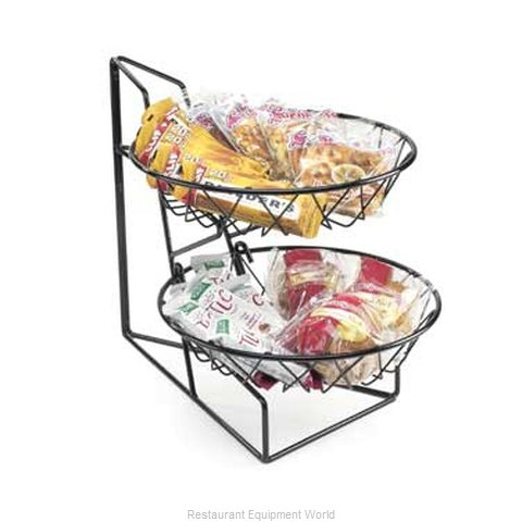 Cal-Mil Plastics 1292-2 Display Stand, Basket (Magnified)