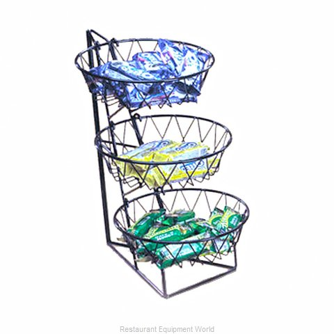 Cal-Mil Plastics 1292-3 Display Stand, Basket